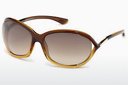 Ophthalmic Glasses Tom Ford Jennifer (FT0008 50F) - Brown, Dark