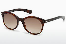 Ophthalmic Glasses Tom Ford Riley (FT0298 52F) - Brown, Dark, Havana