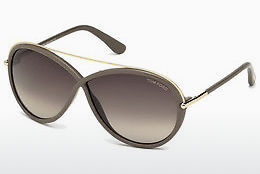 Ophthalmic Glasses Tom Ford Tamara (FT0454 59K) - Horn, Beige, Brown
