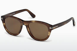 Ophthalmic Glasses Tom Ford Benedict (FT0520 50H) - Brown, Dark