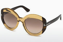 Zonnebril Tom Ford FT0581 47F - Bruin, Bright