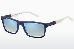 Zonnebril Tommy Hilfiger TH 1405/S H1O/DK - Blauw