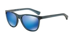 Emporio Armani EA4053 537355 GREEN MIRROR LIGHT BLUETRANSPARENT BLUE