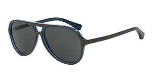 Emporio Armani EA4063 546787 GREYTOP GREY ON OPAL BLUE