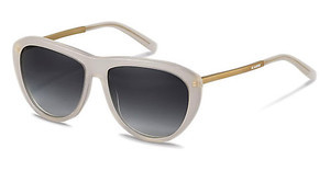 Jil Sander J3015 D sun protect - smokx grey gradient - 68%white, rose gold