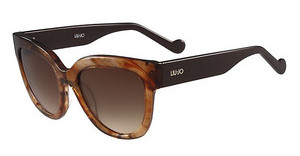 Liu Jo LJ650S 265 STRIPED BROWN