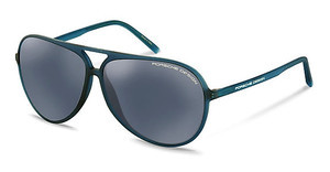 Porsche Design P8595 A black blue, silver mirroredgreen-blue