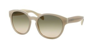 Prada PR 18RS TKO3H2 LIGHT BROWN GRAD LIGHT GREENOPAL IVORY/MATTE IVORY