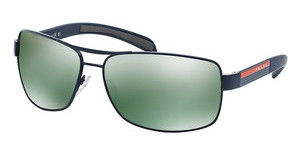 Prada Sport PS 54IS MA33C0 LIGHT GREEN MIRROR PETROLBLUE DEMISHINY