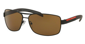 Prada Sport PS 54IS UEA5Y1 POLAR BROWNBROWN RUBBER