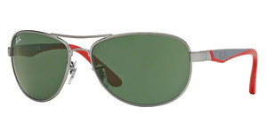 Ray-Ban Junior RJ9534S 242/71 GREENMATTE GUNMETAL