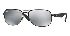 Ray-Ban RB3524 006/6G GRAY SILVER MIRRORMATTE BLACK