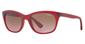 Vogue VO2743S 168314 PINK GRADIENTMATTE TRANSPARENT RED
