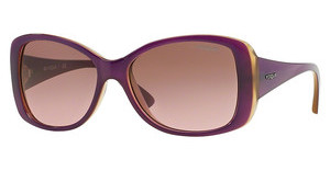 Vogue VO2843S 226814 PINK GRADIENT BROWNTOP TR VIOLET/TR YELLO