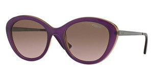 Vogue VO2870S 226814 PINK GRADIENT BROWNTOP TR VIOLET/TR YELLO