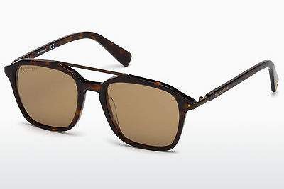 Ophthalmic Glasses Dsquared DQ0245 52E - Brown, Dark, Havana