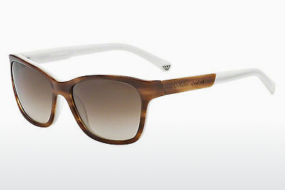 Ophthalmic Glasses Emporio Armani EA4004 504713 - Brown, Havanna, White