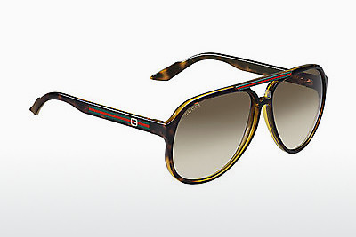 Ophthalmic Glasses Gucci GG 1627/S 791/1W - Brown, Havanna