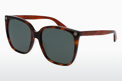 Ophthalmic Glasses Gucci GG0022S 002 - Brown, Havanna
