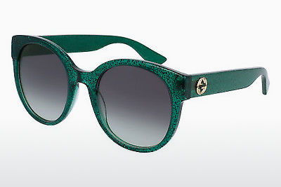Ophthalmic Glasses Gucci GG0035S 006 - Green