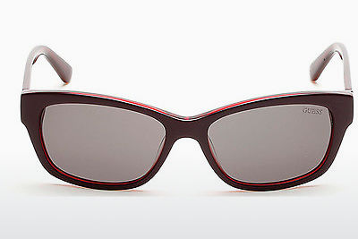 Ophthalmic Glasses Guess GU7409 69A - Burgundy, Bordeaux, Shiny