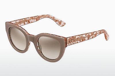 Ophthalmic Glasses Jimmy Choo EDA/S J42/NQ - Pink, Brown, Havanna