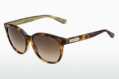 Ophthalmic Glasses Jimmy Choo LUCIA/S EHO/JD - Gold, Brown, Havanna