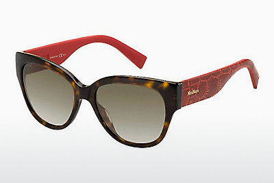 Ophthalmic Glasses Max Mara MM 0002/S C0E/HA - Red, Brown, Havanna