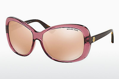 Ophthalmic Glasses Michael Kors HANALEI BAY (MK6018 3053R1) - Pink, Transparent, Brown, Havanna