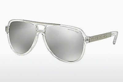 Ophthalmic Glasses Michael Kors CLEMENTINE II (MK6025 30946G) - Transparent, White, Silver