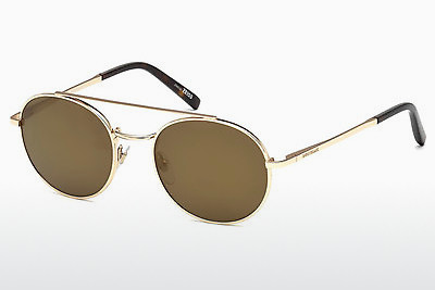 Ophthalmic Glasses Mont Blanc MB604S 28G - Gold