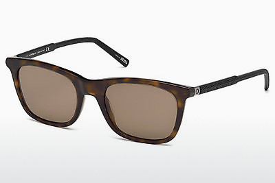 Ophthalmic Glasses Mont Blanc MB607S 52J - Brown, Havanna