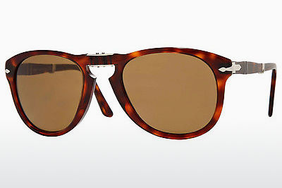 Ophthalmic Glasses Persol FOLDING (PO0714 24/57) - Brown, Havanna