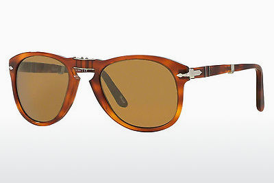 Ophthalmic Glasses Persol FOLDING (PO0714 96/33) - Brown, Havanna