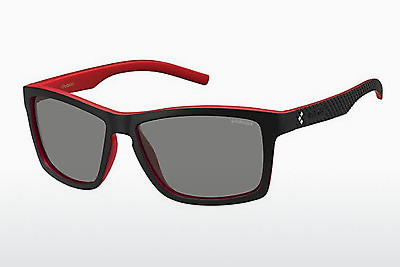Ophthalmic Glasses Polaroid Sports PLD 7009/S VRA/AH - Black, Red