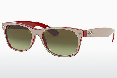 Zonnebril Ray-Ban NEW WAYFARER (RB2132 6307A6) - Wit, Rood