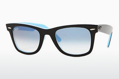 Ophthalmic Glasses Ray-Ban Wayfarer (RB2140 10013F) - Black, Transparent, Blue