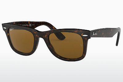 Ophthalmic Glasses Ray-Ban WAYFARER (RB2140 902/57) - Brown, Tortoise