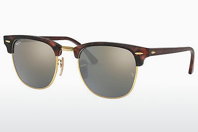 Ophthalmic Glasses Ray-Ban CLUBMASTER (RB3016 114530) - Sand, Brown, Havanna, Gold