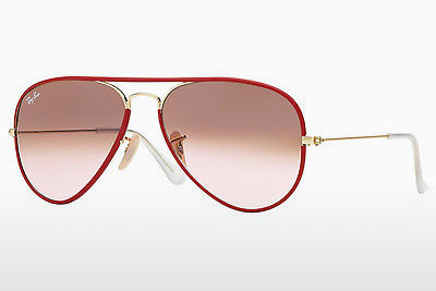 Ophthalmic Glasses Ray-Ban AVIATOR FULL COLOR (RB3025JM 001/X3) - Red