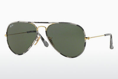 Ophthalmic Glasses Ray-Ban AVIATOR FULL COLOR (RB3025JM 171) - Gold