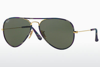 Ophthalmic Glasses Ray-Ban AVIATOR FULL COLOR (RB3025JM 172) - Gold