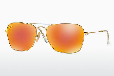 Ophthalmic Glasses Ray-Ban CARAVAN (RB3136 112/69) - Gold