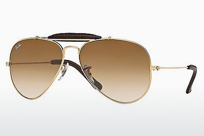 Ophthalmic Glasses Ray-Ban AVIATOR CRAFT (RB3422Q 001/51) - Gold