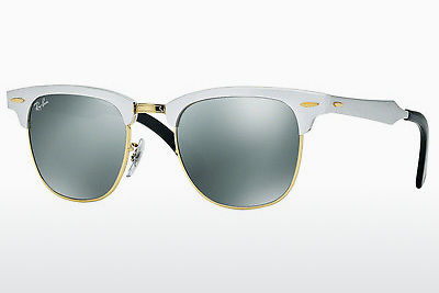 Ophthalmic Glasses Ray-Ban CLUBMASTER ALUMINUM (RB3507 137/40) - Silver