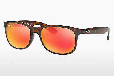 Zonnebril Ray-Ban ANDY (RB4202 710/6S) - Bruin, Havanna