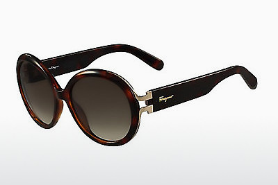Ophthalmic Glasses Salvatore Ferragamo SF780S 214 - Havanna