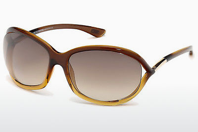 Zonnebril Tom Ford Jennifer (FT0008 50F) - Bruin