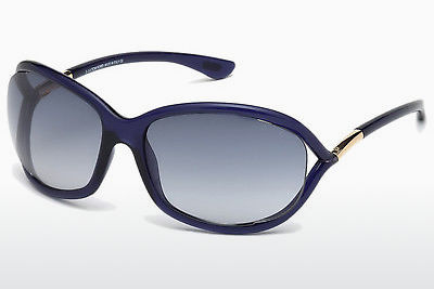 Zonnebril Tom Ford Jennifer (FT0008 90W) - Blauw