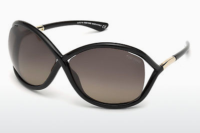 Zonnebril Tom Ford Whitney (FT0009 01D) - Zwart